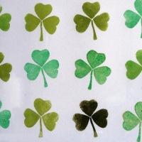 Pour la Saint-Patrick : un trèfle porte-bonheur DIY