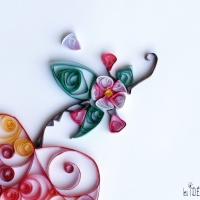 Le quilling : arabesques de papier, DIY par excellence...