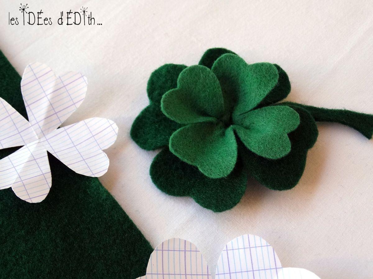 St Patrick...un trèfle DIY